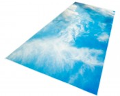 Skylens™ Fluorescent Light Diffuser - Summer Sky Decorative Light Cover - 2' x 4'
