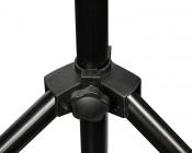Work Light Tripod Stand w/ Tubular T-Bar: Showing Legs Adjustment Knob.