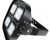Swivel Bar Mount Kit for MD series Modular LED High Bay Light: Bracket Attached To Light