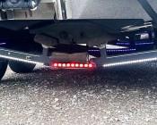 BLB-R9 - Tail/Brake Light Bar: Installed On Boat Trailer
