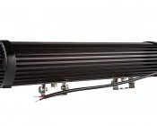 "18"" Dual Row Heavy Duty Off Road Amber LED Light Bar - 45W : Back View"