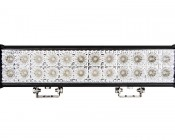 """18"""" Dual Row Heavy Duty Off Road Amber LED Light Bar - 45W : Front View"""