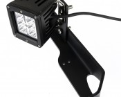 LED Work Light Extension Tab: Shown Installed On ORB50-44MB (Sold Separately) Bracket To Extend Mini Aux Light.