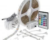 Universal Waterproof RGB LED Light Strip Kits - LED Tape Light with [] SMDs/ft., [] Chip White SMD LED []