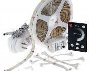 Universal Waterproof LED Light Strip Full Kits - LED Tape Light with [] SMDs/ft., [] Chip White SMD LED []