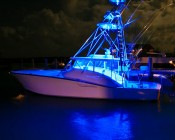 Universal Waterproof RGB LED Light Strip Kits - LED Tape Light with 9 SMDs/ft., 3 Chip RGB SMD LED 5050: Installed On Boat.