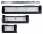 Trailer/RV Exterior LED Flood Lights - 180 Watt Equivalent - 1,800 Lumens - Front Comparison