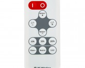 Variable Color Temperature LED Controller w/ Wireless RF Remote - 7 Amps/Channel: Remote