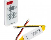 Variable Color Temperature LED Controller w/ Wireless RF Remote - 7 Amps/Channel