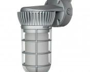 LED Vapor Proof Jelly Jar Light Fixture - Caged Wall Mount Light - __ Lumens