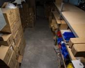 80W Linkable Linear LED Light Fixture - Industrial LED Light - 5' Long - 7,600 Lumens: Warehouse Illuminated