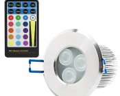 Waterproof Recessed RGB LED Downlight, G-LUX series