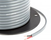 Gray Jacketed 14 Gauge Wire - Two Conductor Power Wire