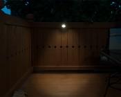 Weatherproof LED Eyelid Step/Deck Light - 3 Watt
