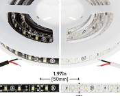 Outdoor LED Strip Lights - Weatherproof 12V LED Tape Light - 76 Lumens/ft.