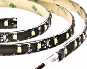 Weatherproof High Power LED Flexible Light Strip - WFLS-x: Black Circuit