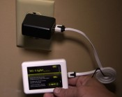 Smartphone or Tablet Wi-Fi LED Controller Hub - WIFI-CON: Used With USB Wall Charger