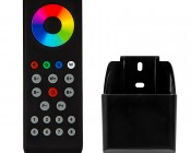 Wireless RGBW 8 Zone LED Remote w/ Cradle for EZ Dimmer Controller: Front View