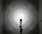 Square 12 Watt LED Mini Auxiliary Work Light: On Target 30 Degrees v 60 Degrees From 5 Feet Away