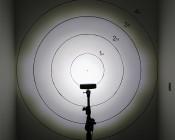 """LED Work Light - 5-1/2"""" Rectangle - 18W: On Target 30 Degrees v 60 Degrees From 5 Feet Away"""