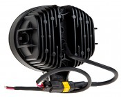 """5.75"""" Oval 27W Heavy Duty High Powered LED Work Light: Back View"""