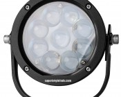 "5.5"" Round 45W Heavy Duty High Powered LED Work Light: Front View"