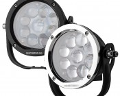 "LED Golf Cart Light - 5-1/2"" Round - 45W: Available In Black & Chrome"