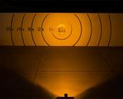 "4-1/2"" Rectangular 10W High Powered Amber LED Work Light"