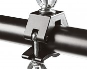 """Work Light/Light Bar Clamp for Work Light Tripod Stand and 1-1/4"""" Tubing: Clamp Attached to Tripod"""