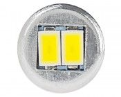 921 LED Bulb - 10 SMD LED Tower - Miniature Wedge Retrofit: Front View