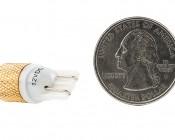 194 LED Bulb - 1 Strobing COB LED - Miniature Wedge Retrofit: Back View