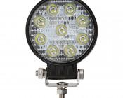 "LED Light Pod - 4"" Round LED Work Light - 22W - 1,600 Lumens - Front View"