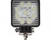 "LED Light Pod - 3.5"" Square LED Work Light - 22W - 1,600 Lumens - Front View"