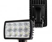"Off-Road LED Work Light/LED Driving Light - 6"" Rectangular - 24W - 1,800 Lumens - Horizontal or Vertical Mount"