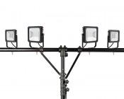 Work Light Tripod Stand w/ T-Bar: Shown with FLSC-x50 & FLSC-x30 (lights sold separately)