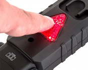 WORKBRITE 2 LED Work Light - NEBO Flashlight: Push Hazard Light to Turn On