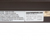 LED Wall Pack - 120W (600W HID Equivalent) - 4000K - 13,600 Lumens - Junction Box or Conduit Install: Label