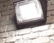 Photocontrol LED Wall Pack - 120W (600W MH Equivalent) - 4000K/5000K - 13,600 Lumens - Junction Box or Conduit Install