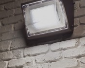 Photocontrol LED Wall Pack - 40W (250W MH Equivalent) - 4000K/5000K - 4,750 Lumens - Junction Box or Conduit Install
