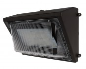 Photocontrol LED Wall Pack - 100W (550W HID Equivalent) - 4000K/5000K - 12,850 Lumens - Junction Box or Conduit Install