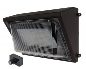 Photocontrol LED Wall Pack - 100W (550W HID Equivalent) - 4000K - 12,850 Lumens - Junction Box or Conduit Install