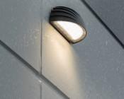 Photocontrol Full Cutoff LED Wall Pack - Half Moon - 45W (100W MH Equivalent) - 5000K/4000K - 5,300 Lumens - Illuminated
