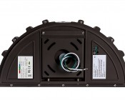 Photocontrol Full Cutoff LED Wall Pack - Half Moon - 45W (100W MH Equivalent) - 5000K/4000K - 5,300 Lumens
