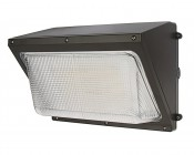 LED Wall Pack w/ Glass Lens - 80W (250W MH Equivalent) - 4000K/5000K - 11,600 Lumens