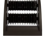 Dual-Head Rotatable LED Wall Pack - 80W (400 MH Equivalent) - 4000K - 10,700 Lumens: Top View