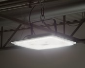 Low-Profile LED High-Bay Lights - 150W - 4000K - Flush/Surface/Suspended Mount - 18,000 Lumens