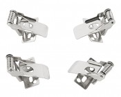 Flush Mount Clips for Low-Profile LED Canopy Light