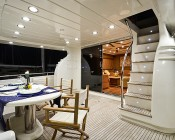 A19 LED Bulb - 7W - 12V DC: Installed in Recessed Lighting on Yacht