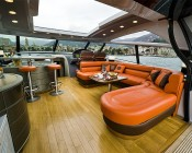 A19 LED Bulb - 5W - 12V DC: Installed in Yacht Upper Deck Lounge Area