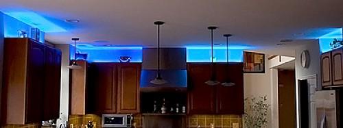 above cabinet lighting - Bright Kitchen Lighting